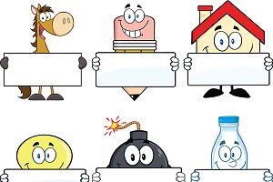 Cartoon Characters Collection - 6