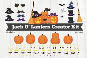 Jack O Lantern Creator Kit