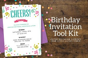 Birthday Invitation Tool Kit