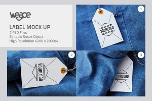Photorealistic Label Mockup