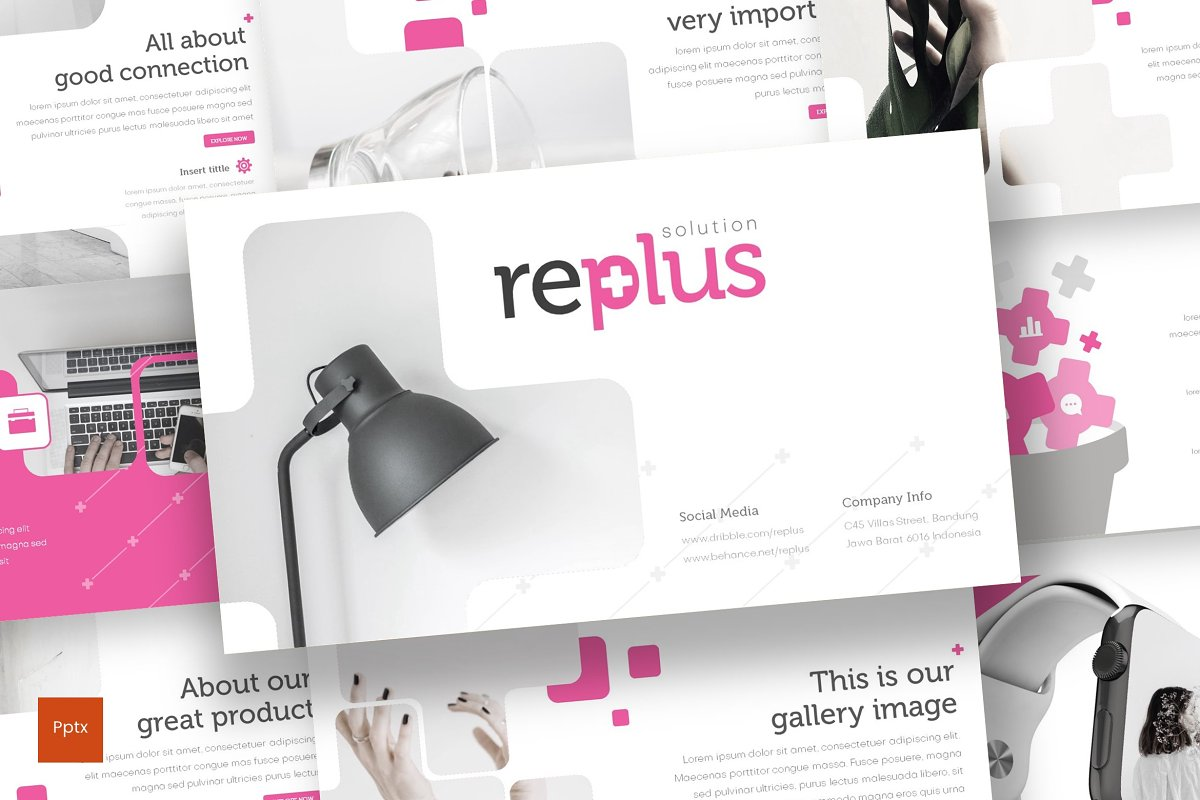 Replus - Powerpoint Template