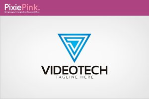 Video Tech Logo Template