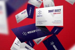 Business Cards - 5 Elegant Mockups