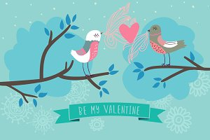 Romantic birds