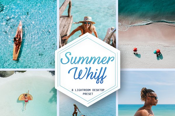 Summer Whiff - 8 Lightroom preset (D