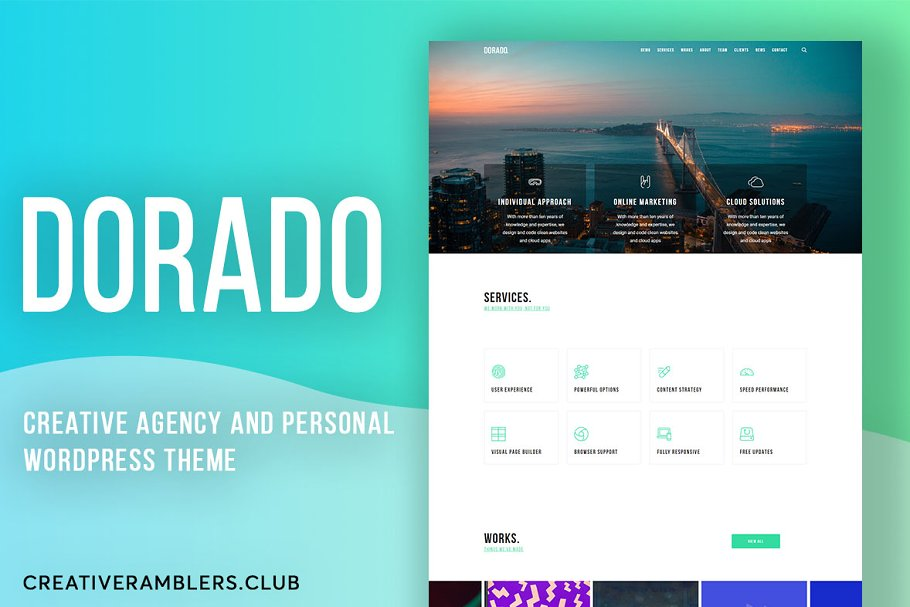 Dorado - Creative Agency theme