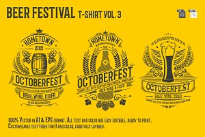 Beer Festival T-Shirt Vol. 3