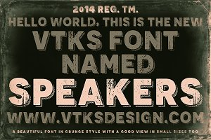 Speakers Vtks Font