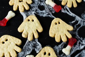 Ghost cookie for Halloween