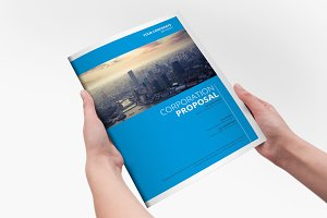 Clear Corporate Template Brochure