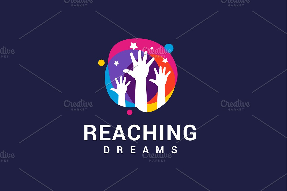 Reaching Dreams Logo in Logo Templates - product preview 1