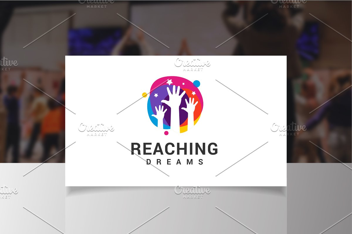 Reaching Dreams Logo in Logo Templates - product preview 2