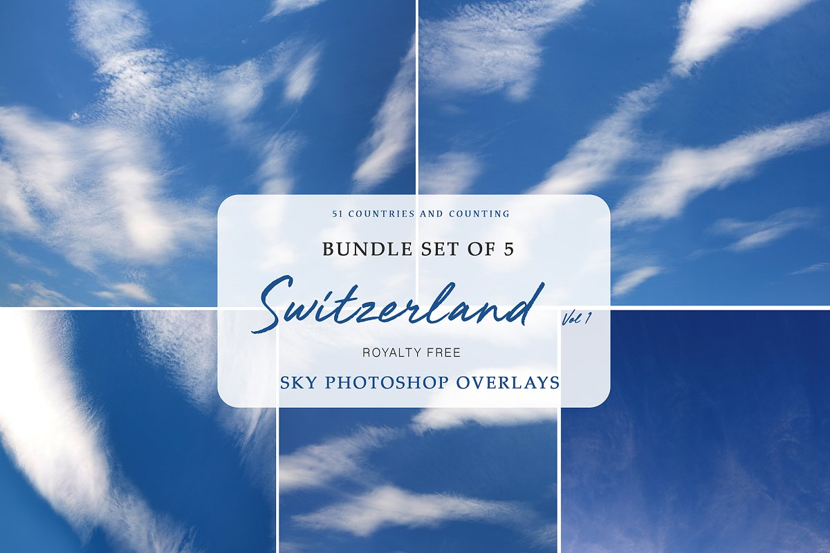 Sky Overlays | Switzerland Vol  2