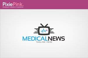 Medical News Logo Template