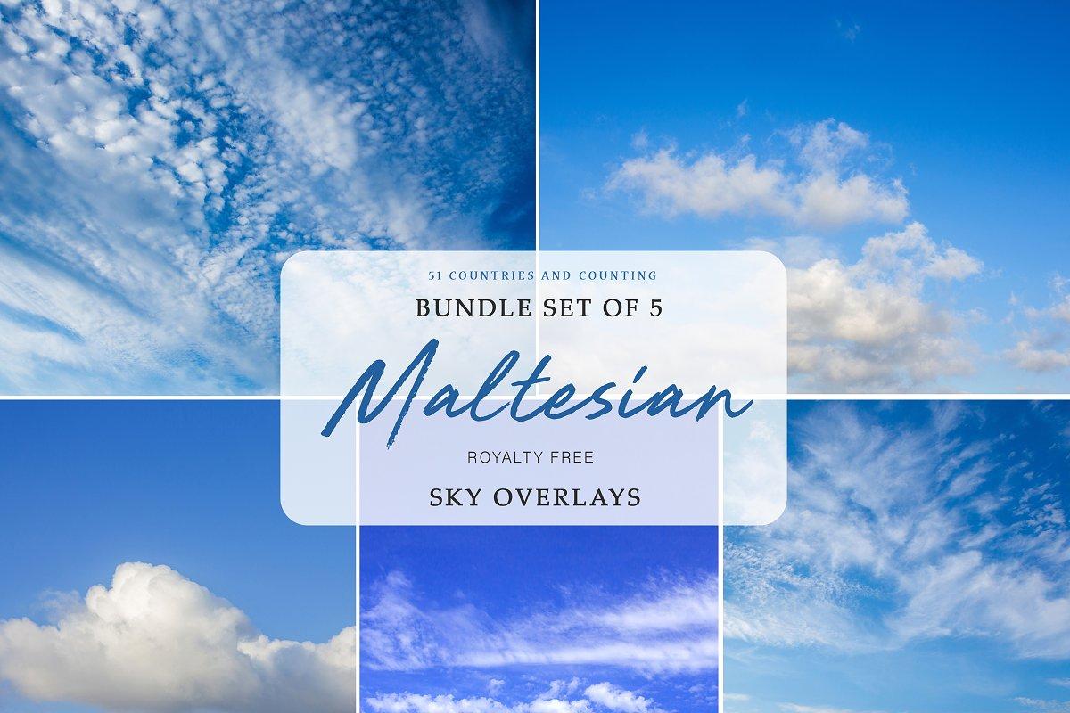 Sky Overlays   Malta Skies Vol. 1 in Add-Ons