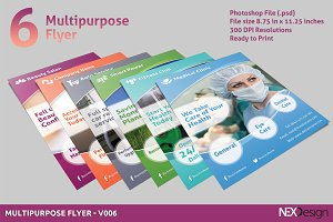 6 Multipurpose Flyers - SB #010