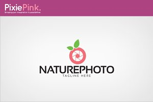 Nature Photo Logo Template