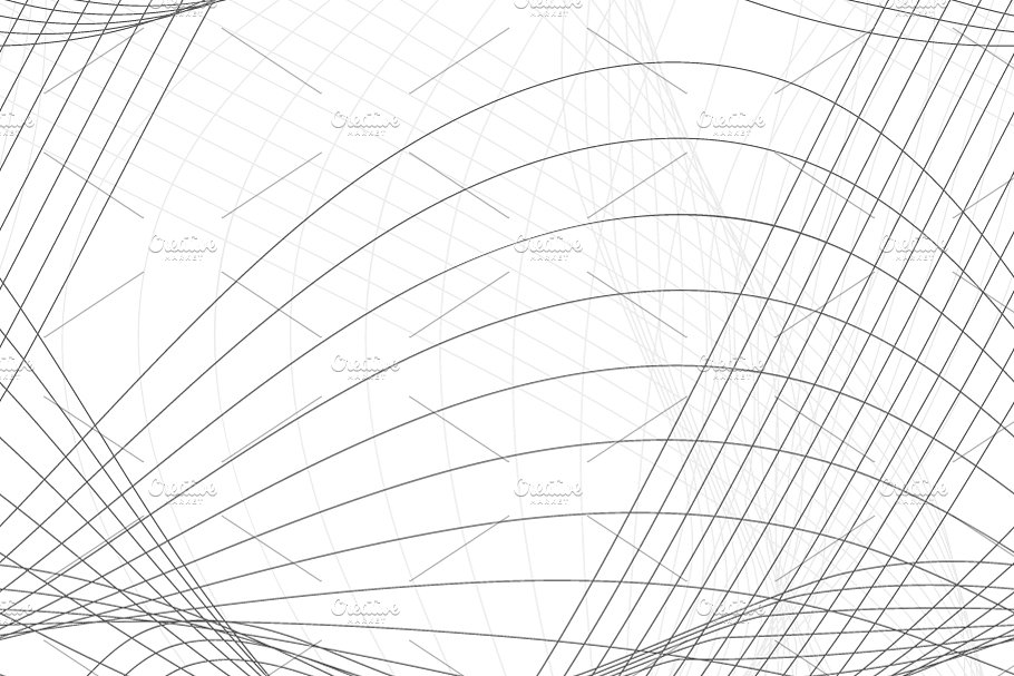 Abstract background with gray lines