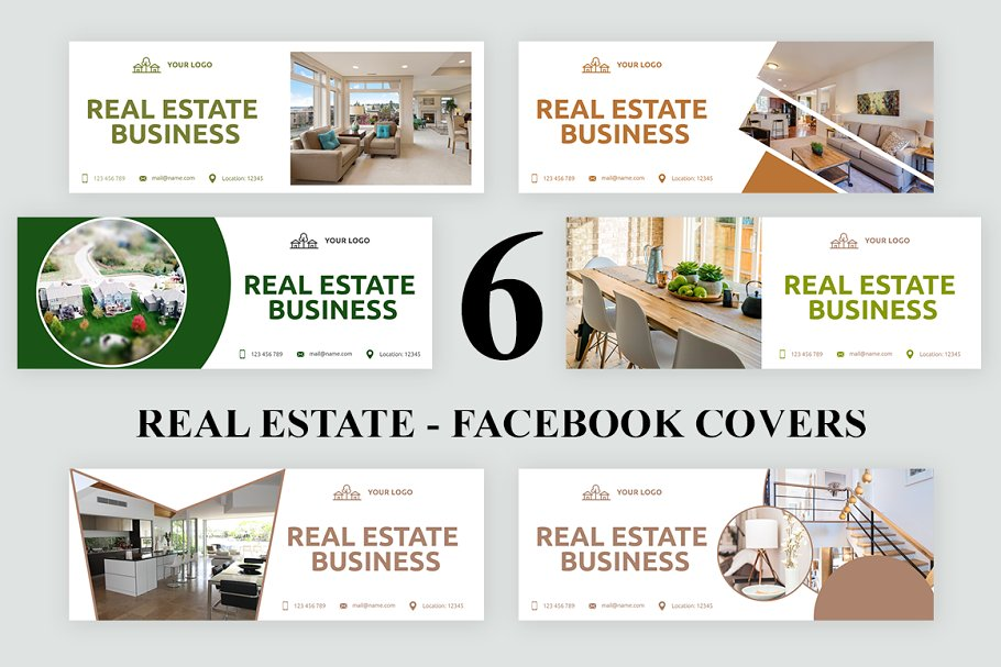 Real Estate - Facebook Covers