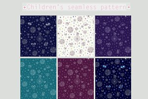Children's seamless pattern