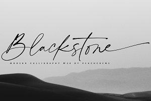 Blackstone// Casual Chic Font SALE!
