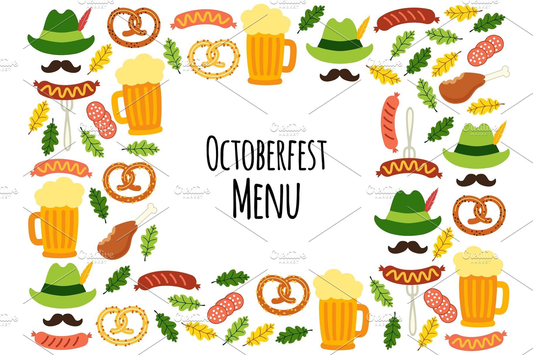 9cb9d16e5 Cute Octoberfest Menu background