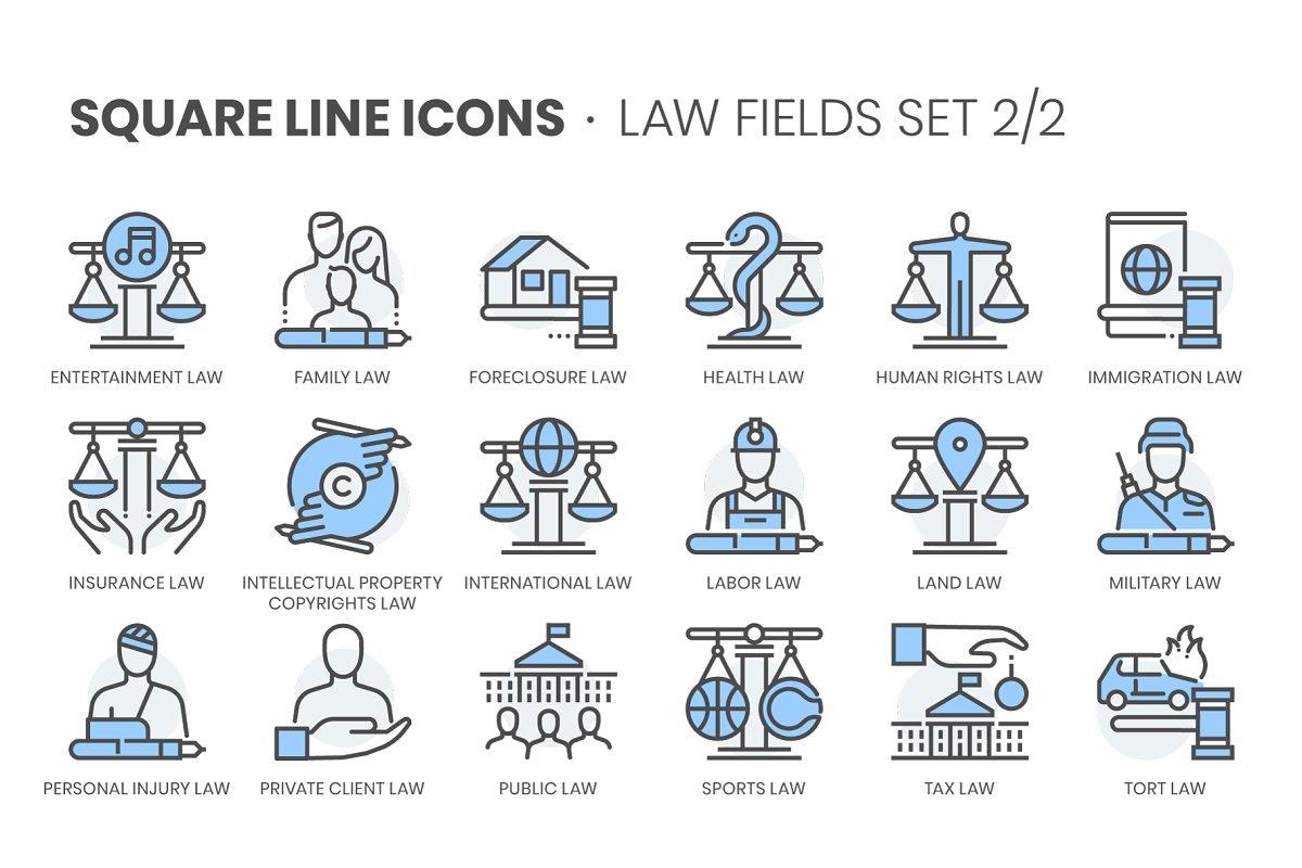 Law Fields 2, Square Line