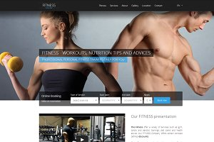 HOTFIT - Hotel and Fitness Template