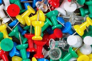 Colorful Thumbtacks