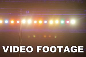 Overhead Stage Lighting