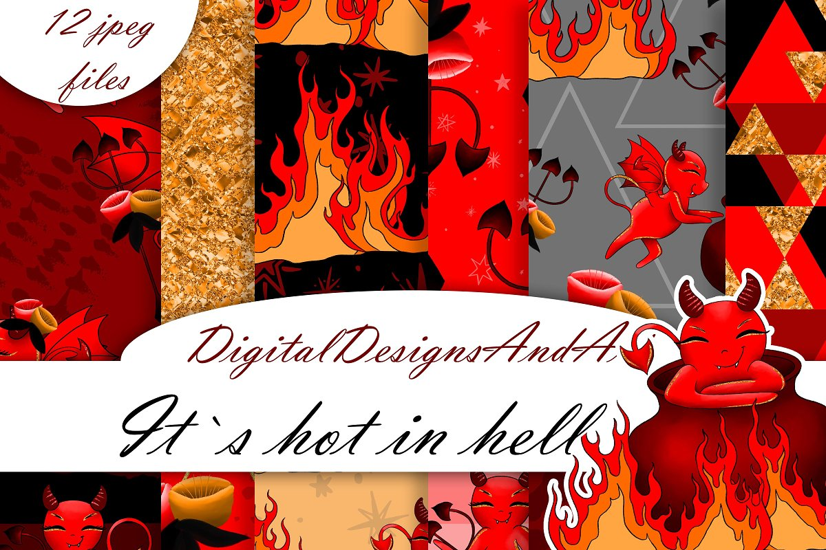 Devil digital paper