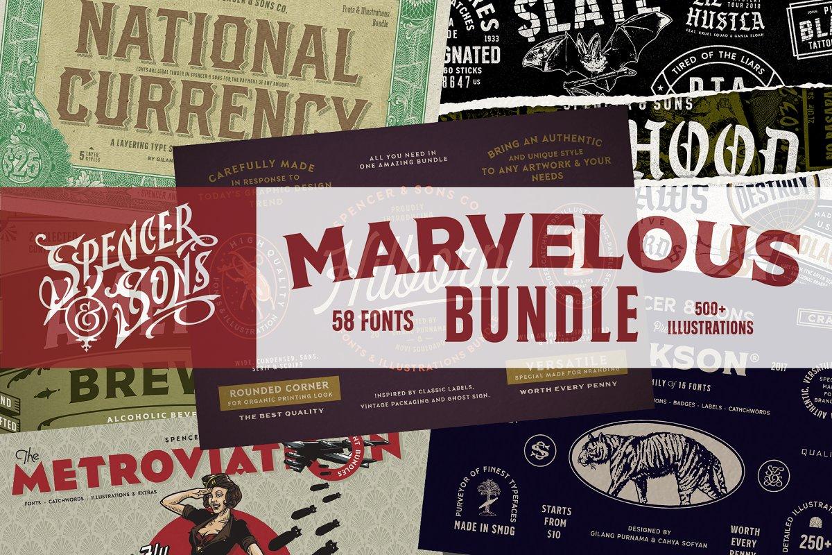 Spencer & Sons Marvelous Bundle