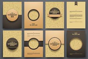 Set of Veterinary brochures
