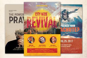 Revival Church Flyer Bundle