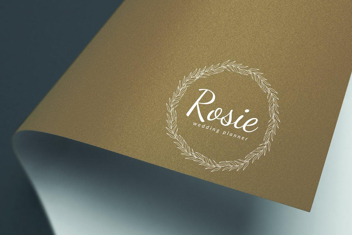 Rosie Wedding Planner Logo in Logo Templates
