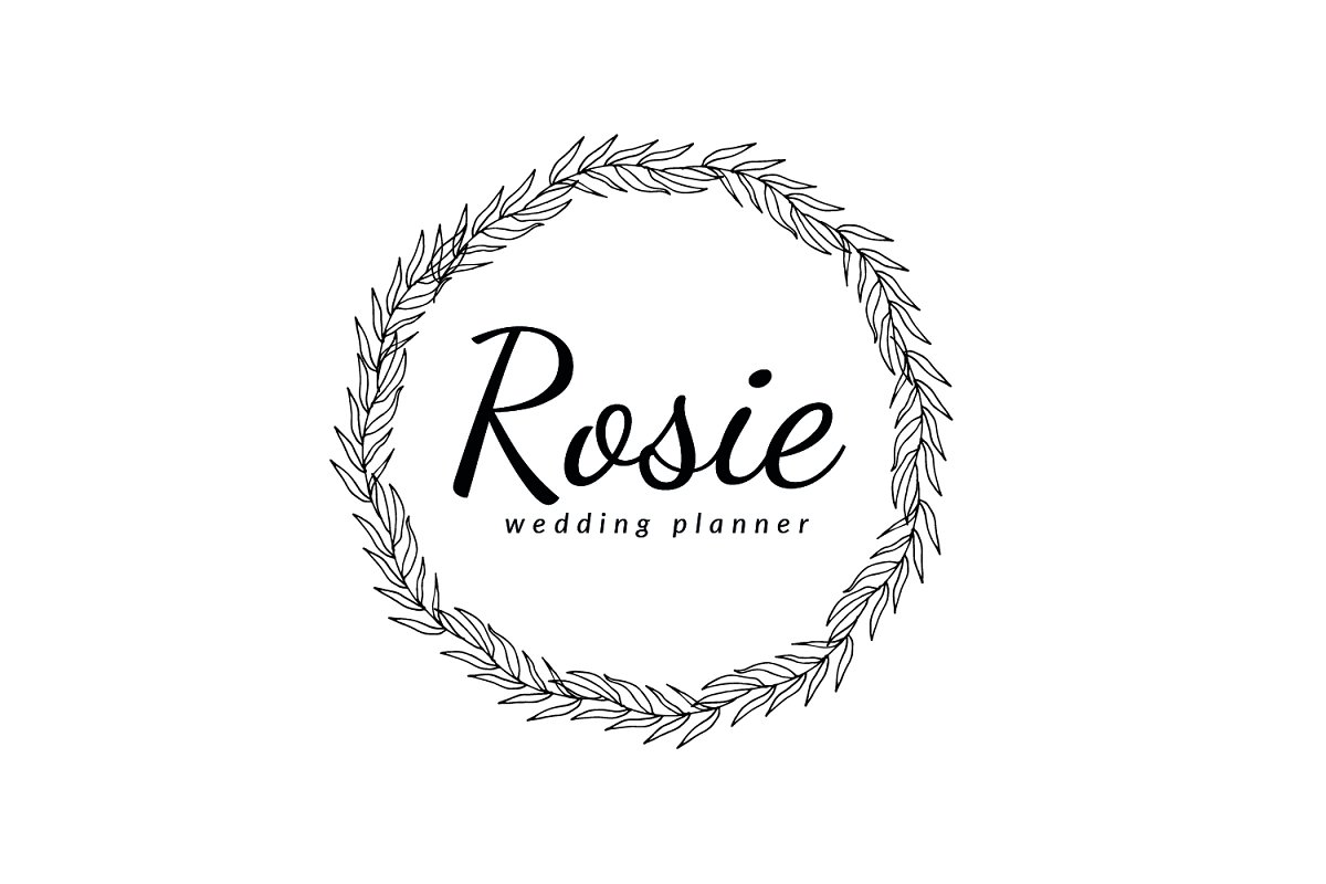 Rosie Wedding Planner Logo in Logo Templates - product preview 1