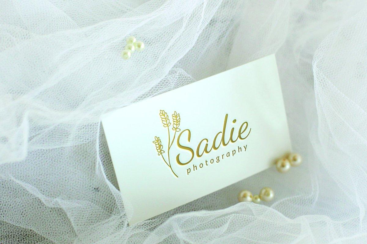 Sadie Photography Logo in Logo Templates