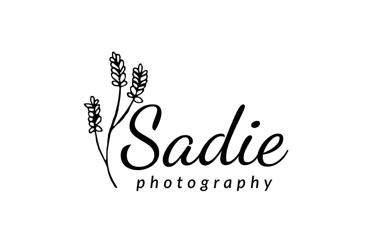 Sadie Photography Logo in Logo Templates - product preview 1