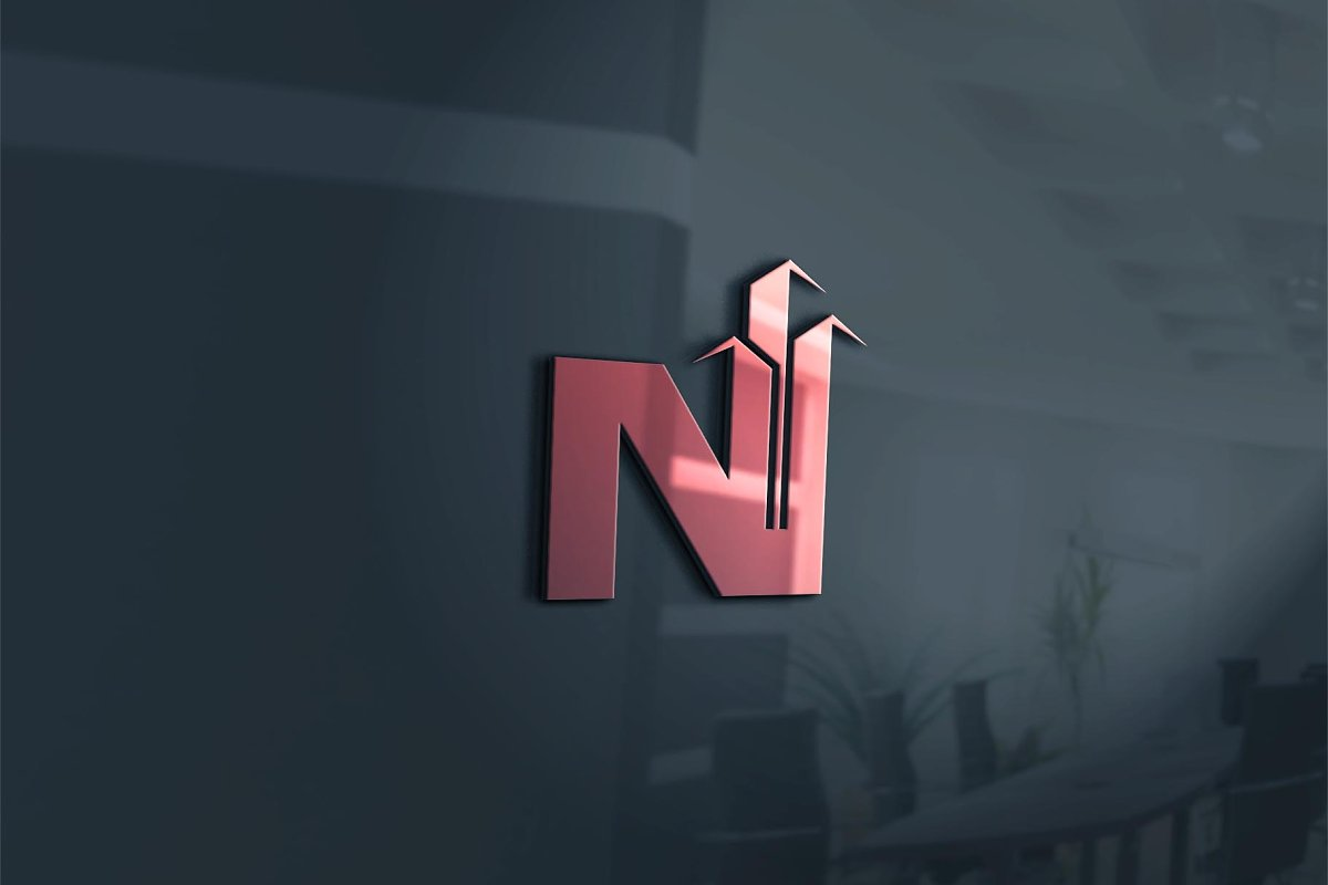 N Real Estate Logo in Logo Templates - product preview 2
