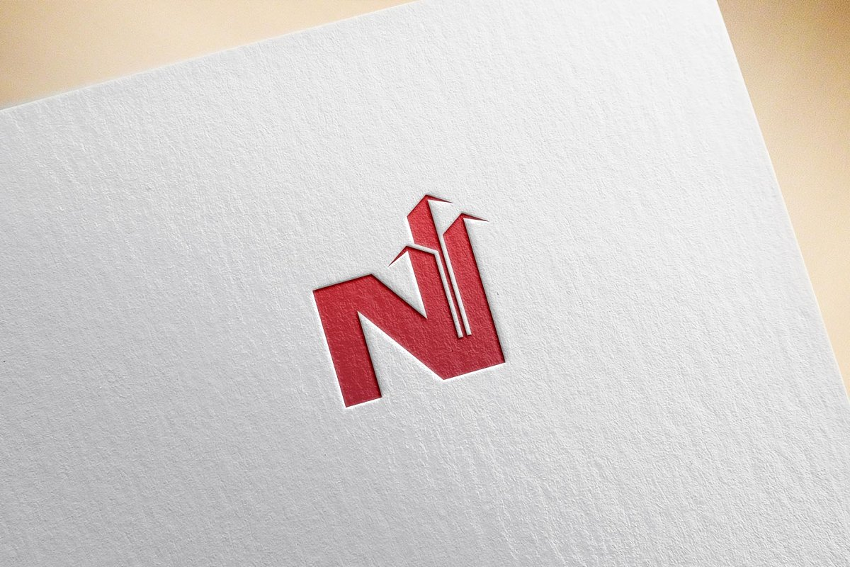 N Real Estate Logo in Logo Templates - product preview 3