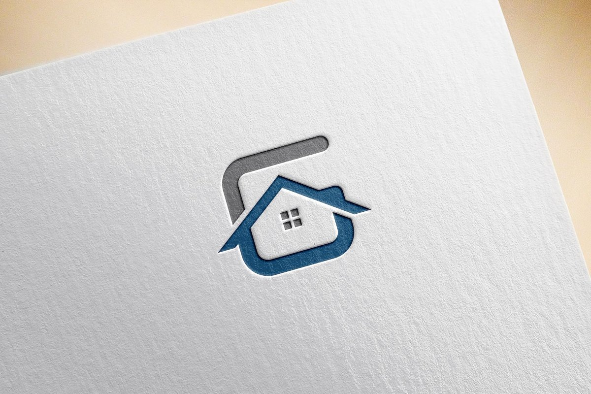 G Real Estate Logo in Logo Templates - product preview 2