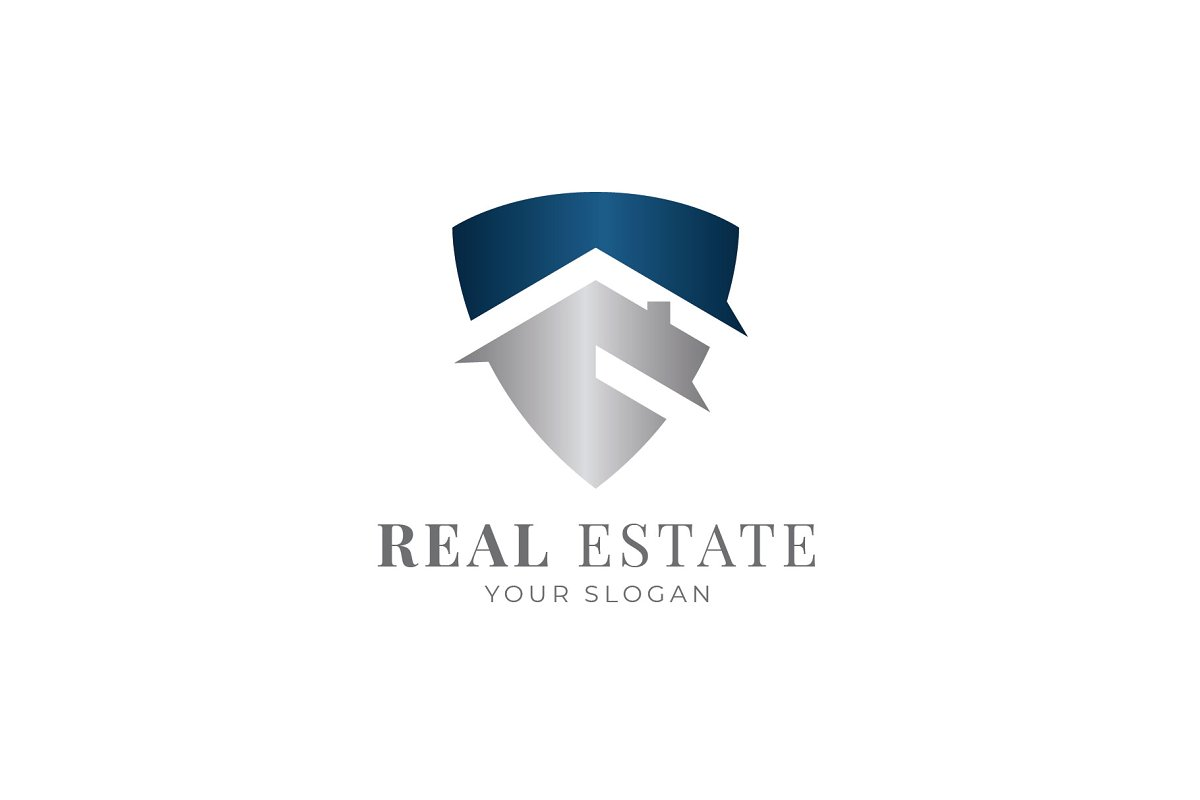 Shield Real Estate Logo in Logo Templates