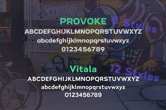 Street Cred Font Duo in Sans-Serif Fonts - product preview 2
