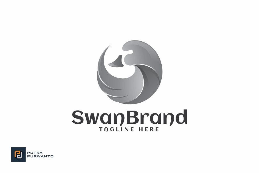 Swan Brand - Logo Template in Logo Templates - product preview 1