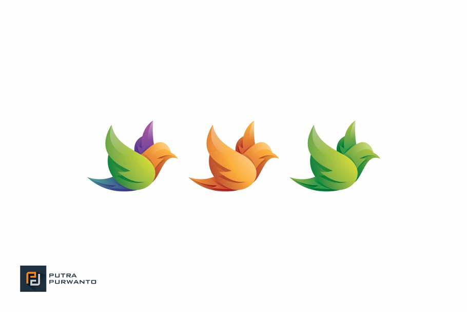 Pigeon - Logo Template in Logo Templates - product preview 2