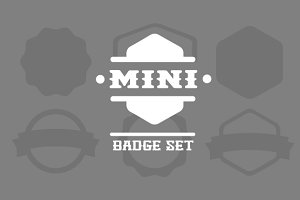 Mini Badge Set
