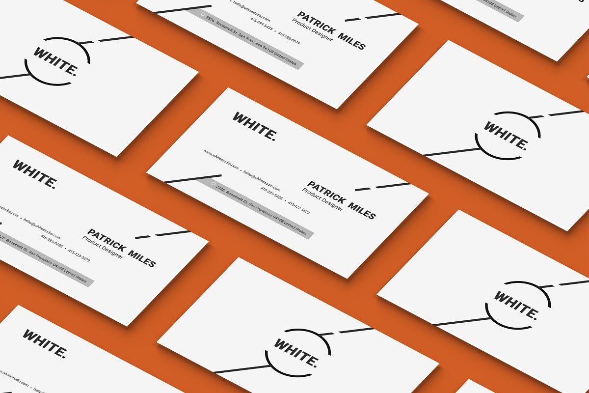 Minimal Business Card Template Vol.1