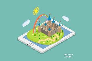 Online fairy tale reading