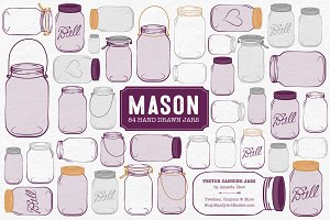 Plum Jar Vectors & Clipart