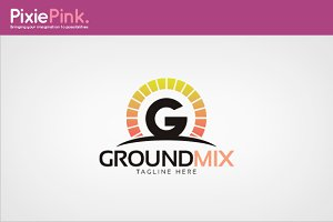 Ground Mix Logo Template